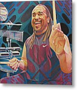 Carter Beauford-op Series Metal Print