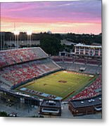 Carter-finley Stadium Metal Print by Elevated Perspectives LLC