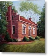 Carter House In Franklin Tennessee Metal Print by Janet King