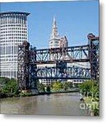 Carter Road Lift Bridge Metal Print