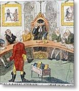 Cartoon: Surgeons, 1811 Metal Print