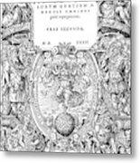 Cartouches, 1572 Metal Print