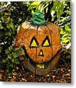 Carved Pumpkin 5 Metal Print