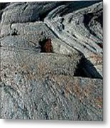 Carved Rock Metal Print