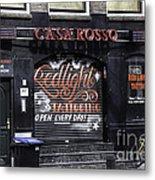 Casa Rosso Amsterdam Metal Print