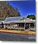 Cascade Hollow Metal Print