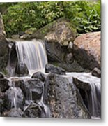 Cascade Waterfall Metal Print