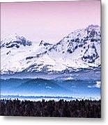 Cascades Central Oregon Metal Print