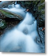 Cascades - Spruce Brook Twilight Metal Print