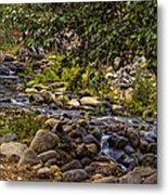 Cascading Creek Metal Print