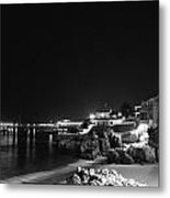 Cascais At Night Metal Print