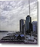 Case Of The Missing P Aka As Pier 17 Metal Print