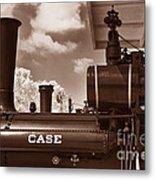 Case Steam Metal Print