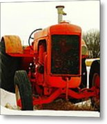 Case Tractor Metal Print