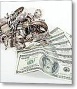 Cash For Sterling Silver Scrap Metal Print