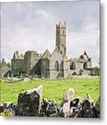 Cashel Abbey Metal Print