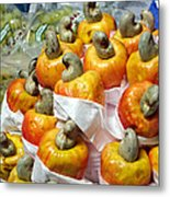 Cashew Fruit - Mercade Municipal Metal Print