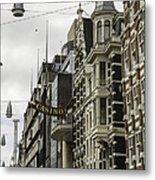 Casino Arcade Damrak Amsterdam Metal Print