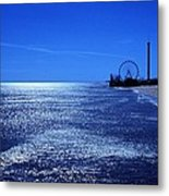Casino Pier Seaside Heights Metal Print