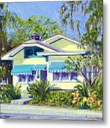Cason Cottage Metal Print
