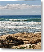 Caspian Sea. Metal Print by Alexandr