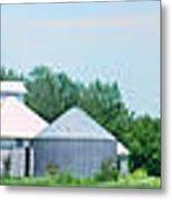 Cass County Farm Metal Print