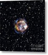 Cassiopeia A, Nustar X-ray Image Metal Print