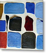 Cast Abstraction 2 Metal Print
