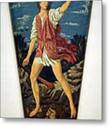 Castagno's David With The Head Of Goliath Metal Print