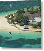 Castaway Island Resort, Castaway Metal Print