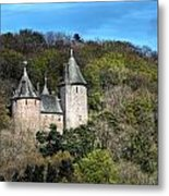 Castell Coch Cardiff Metal Print