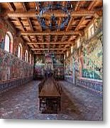 Ready For The Red Wine Wedding Castelle Di Amorosa Metal Print