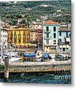 Castelleto Harbor.italy Metal Print