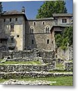 Castello Visconteo Metal Print