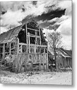 Castile Barn Revisited Metal Print