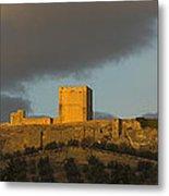 Castillo De La Mota Metal Print