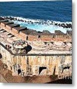 Castillo De San Cristobal San Juan Puerto Rico Metal Print