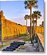 Castillo Sunrise Metal Print