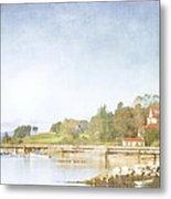 Castine Harbor Maine Metal Print