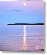 Casting Of Light In The Night Metal Print