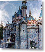 Castle And Clouds Metal Print