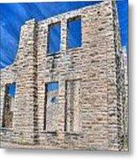 Castle And Sky Metal Print