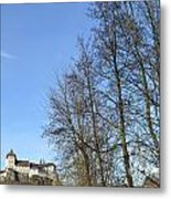 Castle And Trees Metal Print
