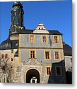 Castle Church Weimar Metal Print