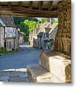 Castle Combe - View Metal Print