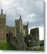 Castle Curtain Wall Metal Print