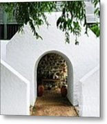 Castle Entrance Metal Print