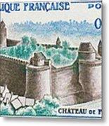 Castle Fougeres Metal Print