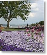 Castle Garden Schwerin - Germany Metal Print