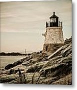 Castle Hill Lighthouse Metal Print
